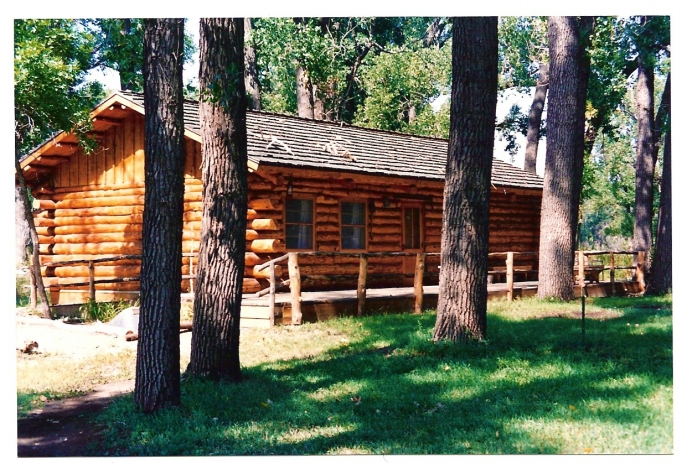 Logging Camp Ranch Ponderosa Pine Log Cabins